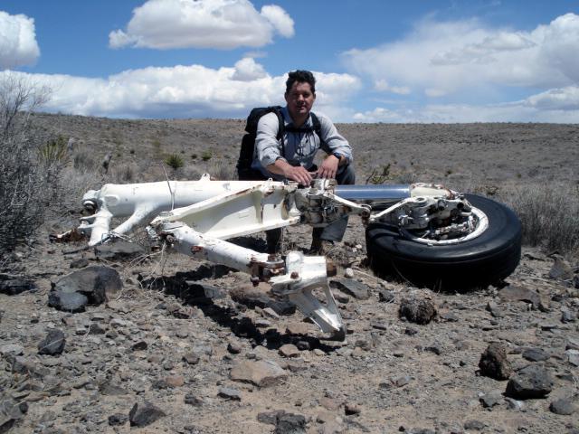 Navy Grumman A 6e Intruder Crash Near Oatman Kingman Arizona